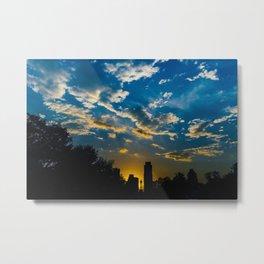 Austin Sunset Metal Print