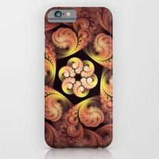 Little Pink Swirls iPhone 6s Slim Case