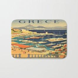 Vintage poster - Grece Bath Mat