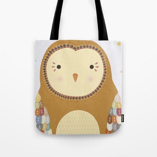 Autumn the Owl Tote Bag