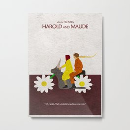 Harold and Maude Metal Print