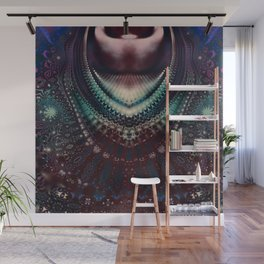 Fractal Royal Necklace Wall Mural