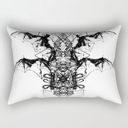 Geo Wing Rectangular Pillow