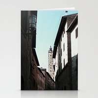 italian Stationery Cards featuring Italian Roofs by WaterAngel42