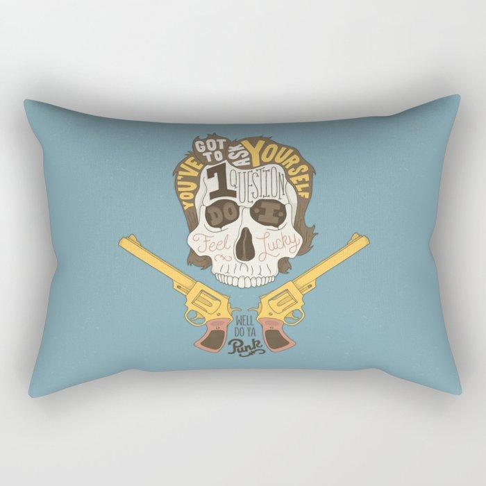 Do ya Punk? Rectangular Pillow