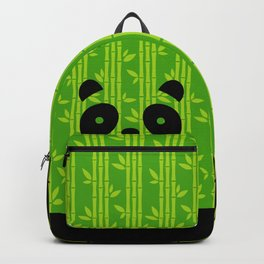 Evergreen Bamboos with Panda Backpack