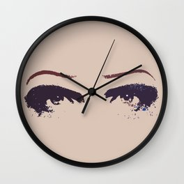 Hedwig's Eyes (with JCM) Wall Clock