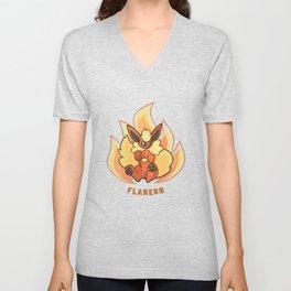 Flareon Unisex V-Neck