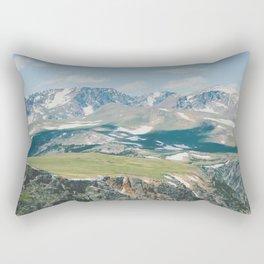 The Tops of Mountains Rectangular Pillow