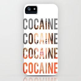 LINDSAY LOHAN - COCAINE iPhone Case