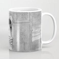 French Bulldog. (black and white version) Mug