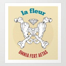 Omnia Fert Aetas Art Print
