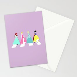 Princesses Road Stationery Cards