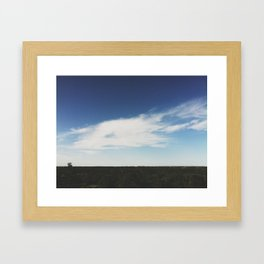 The Horizon Framed Art Print