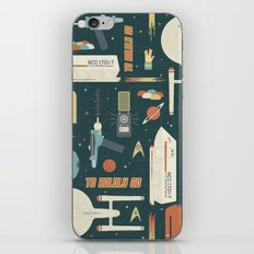 To Boldly Go... iPhone Skin