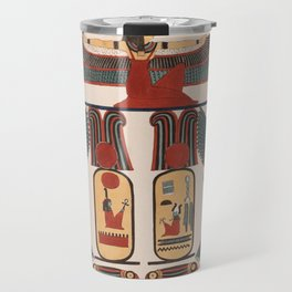 Ancient Egyptian pattern design Travel Mug