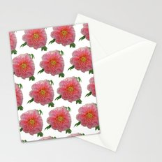 Peony Flower Print for Spring & Summer Stationery Cards