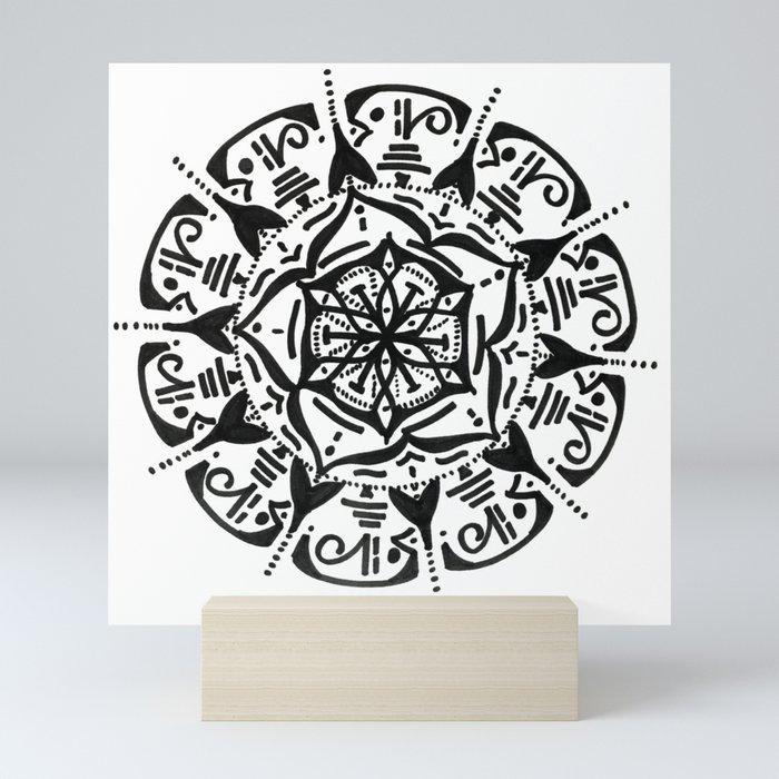 mandal c. Mini Art Print