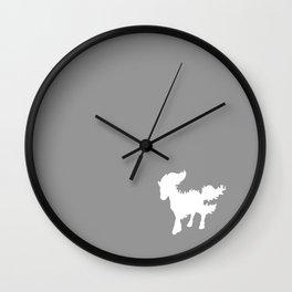 White Ponyta Wall Clock