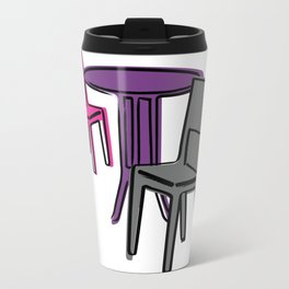 Table & Chairs 01 Travel Mug