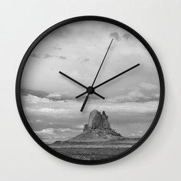 Lone Butte Wall Clock