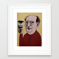 rothko Framed Art Prints featuring Mark Rothko by baldur