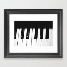 Piano Part 1 Framed Art Print
