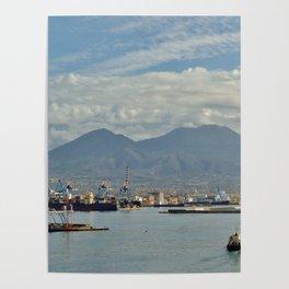 Mt. Vesuvius Poster