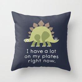 Stego Tsuris Throw Pillow