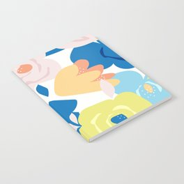 Painterly Blooms Notebook