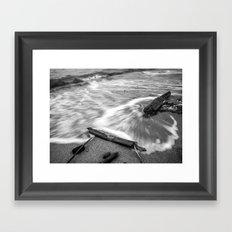 Driftwood Framed Art Print