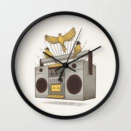 Three little birds Wall Clock