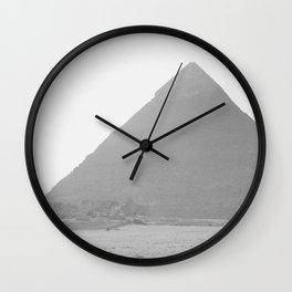 Pyramid//Fourteen Wall Clock