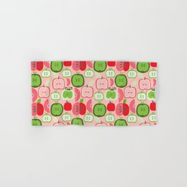 Retro Apples Hand & Bath Towel