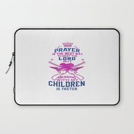 Messing with my Children Laptop Sleeve