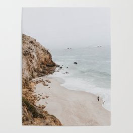 malibu coast / california Poster