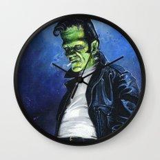 Rebel Frankenstein Wall Clock