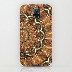 Molten Copper Mandala Galaxy S5 Slim Case