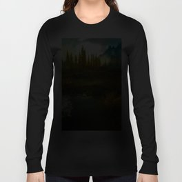 Landscape of Skyrim Long Sleeve T-shirt