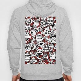 Cute lil monsters doodles Hoody
