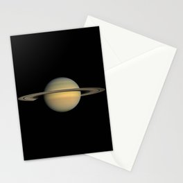 Nasa Picture 13: saturn Stationery Cards