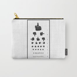 MIDDLE FINGER VISION TEST Carry-All Pouch