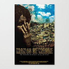 Manos De Madre Official Movie Poster Canvas Print