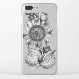 flower 1.0 Clear iPhone Case