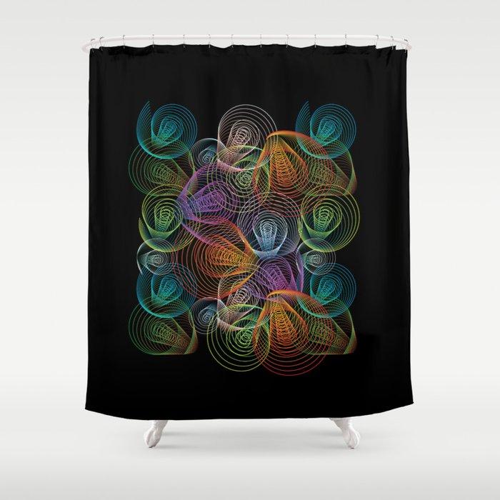 Echo Shower Curtain By Izuma
