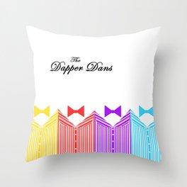 Dapper Dans Throw Pillow