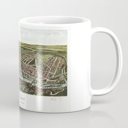 Bird's Eye View of Manayunk Philadelphia, Pennsylvania (1907) Coffee Mug