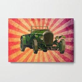 Vintage Car 03 Metal Print