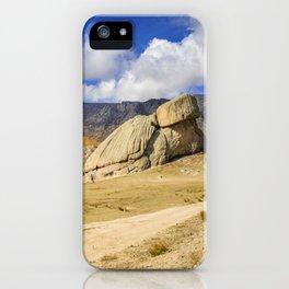 Turtle Rock Mongolia iPhone Case