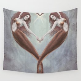 Heart Dance Wall Tapestry
